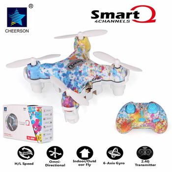 Cheerson CX-10DS Smart Q 4CH 2.4 Г Безголовый Мини Drone Quadcopter Phone Pad Управления RC Helicopter Toys Подарок